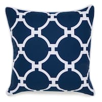Oliver & James Lucian Square Embroidered Pillow
