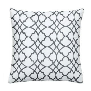 Jill Rosenwald Groton Swirl Square Decorative Pillow
