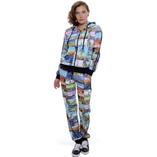 Women's Scuba Jog Hoodie and Pants Set