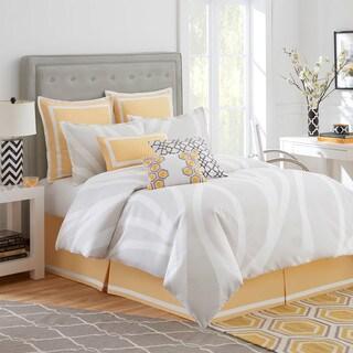 Jill Rosenwald Groton Swirl Reversible Comforter Set (5 options available)