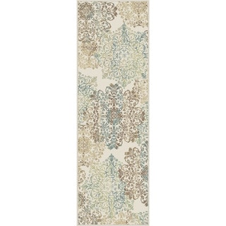 Alise Fairview Transitional Abstract Multi Runner Area Rug (2'7 x 7'3)