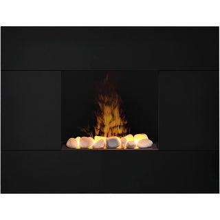 Tate Wall-Mount Opti-myst technology Electric Fireplace