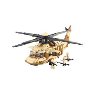 Uh-60l Blackhawk Helicopter (Option: Brown)