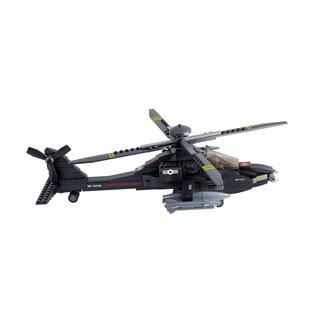 Sluban Ah-64 Apache Helicopter