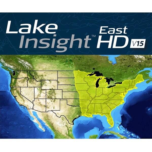Lowrance Lake Insight HD East V15 Chart Card
