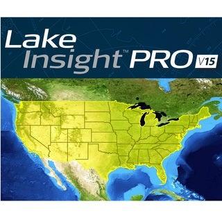 Lowrance Lake Insight Pro v15 Chart Card