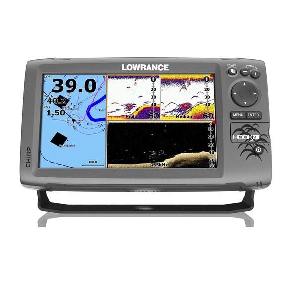 Lowrance Hook-9 Mid/ High/ Downscan Nav+ Fishfinder