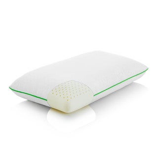 LINENSPA Latex Pillow with Pure Cotton Cover