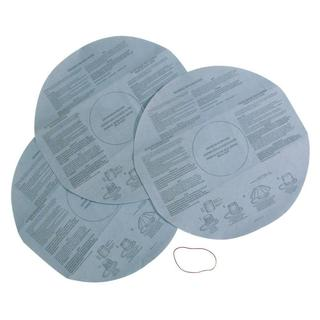 Multi-Fit VF2002 Disposable Filter for Wet Dry Shop Vacuum (Pack of 3)