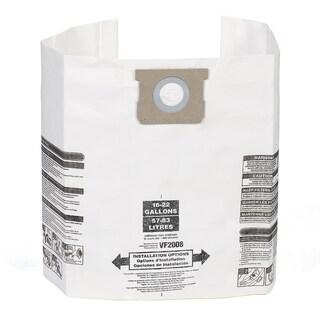 MULTI-FIT VF2008TP 15 - 22-gallon General Wet/Dry Dust Filter Bag (6)