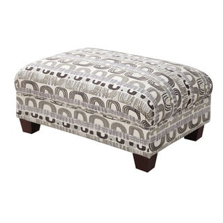 Urbana Jasmine Bone Cocktail Ottoman