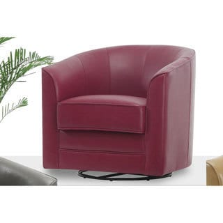 Oliver & James Sigmar Bonded Leather Accent Chair