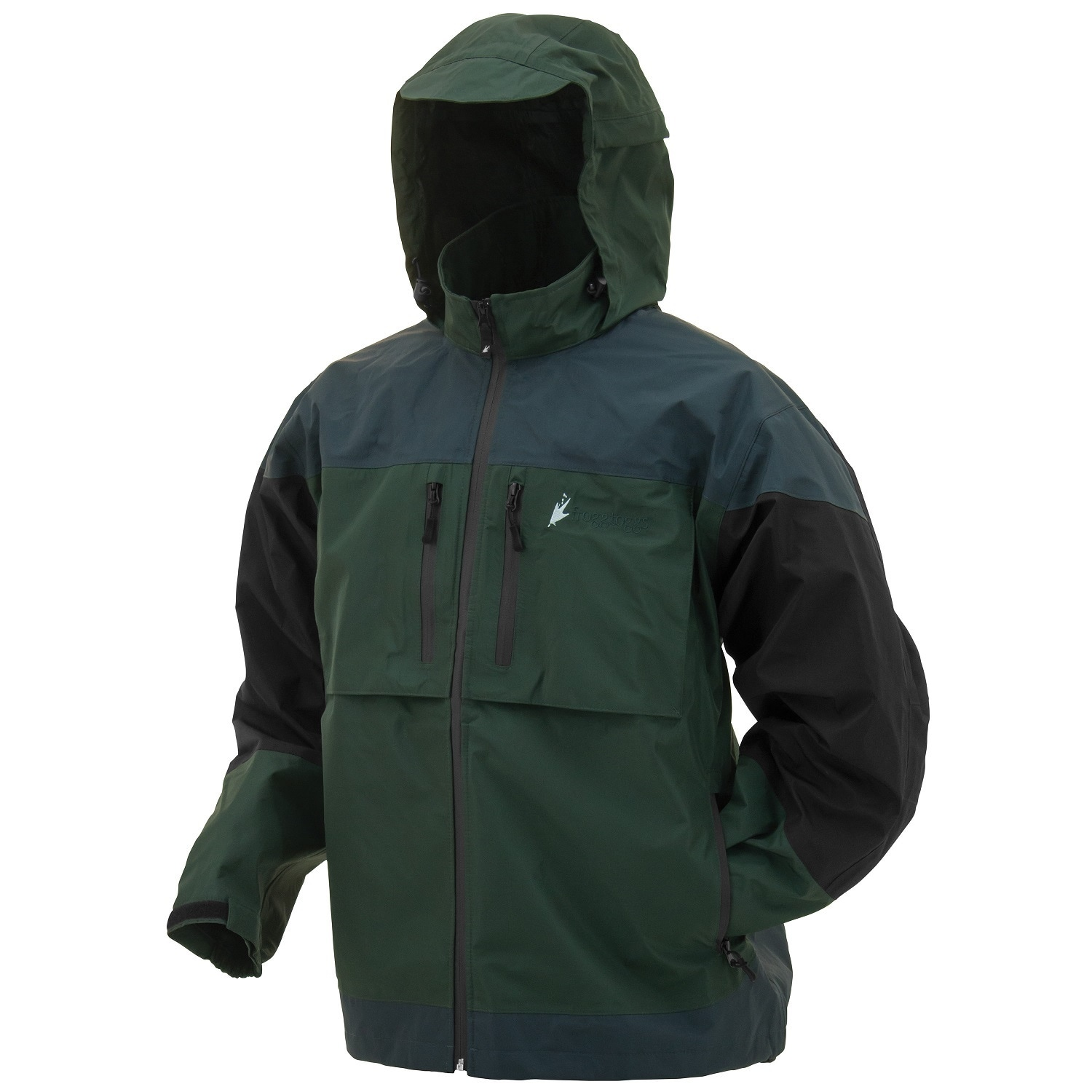 Frogg Toggs Toadz Anura Jacket Forest Green (XLarge), Adu...