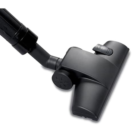WORKSHOP WS25030A Carpet and Hard Floor Nozzle for Wet Dry Vacs - Black