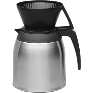 Melitta 10 Cup Pour Over Coffee Brewer with Stainless Thermal Carafe