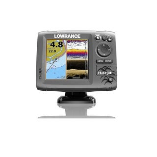 Lowrance Hook-5 Mid/High/Downscan Fishfinder, Chartplotter