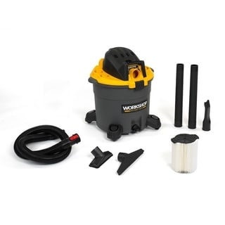 WORKSHOP Wet Dry Vac WS1600VA Wet/ Dry 6.5 Peak HP, 16 gal. High Capacity Shop Vacuum Cleaner