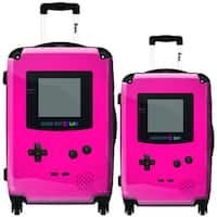 iKase Pink Game Boy 2-piece Hardside Spinner Luggage Set