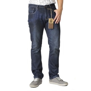 The United Freedom Men's Reserve Denim Back Pocket Slim Fit Jean