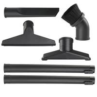 WORKSHOP WS17856A 1 7/8-inch 6-piece Attachment Kit for Wet Dry Vacs - Black