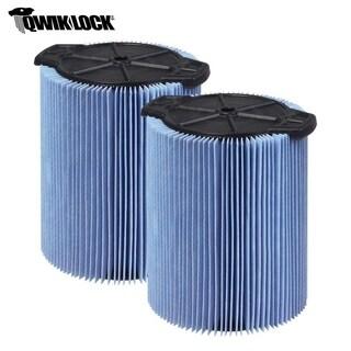 WORKSHOP WS22200F2 5-16-gallon Wet/Dry Fine Dust Cartridge Filter (2)