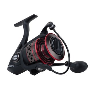 Penn Fierce II Spinning 3000 6.2:1 Gear Ratio 5 Bearings 10-pound Max Drag Ambidextrous Boxed Reel