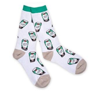 TeeHee Food Lovers Fashionable Cotton Crew Socks