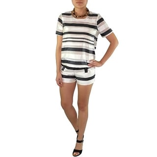 Relished Women's JOA Sateen Striped Top