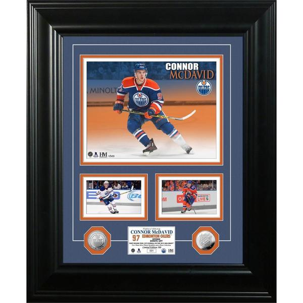 Connor McDavid Marquee Silver Coin Photo Mint