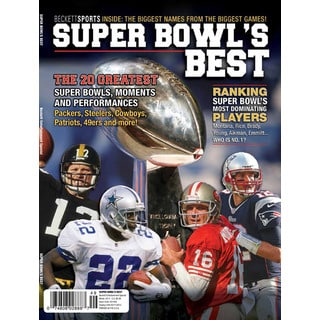 NFL Football Super Bowl's Best Greatest Moments Teams Facts Stats Limited Edition Magazine