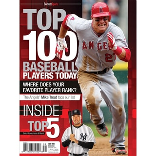 Baseball's Top 100 Greatest Players Today Special Edition Magazine Mike Trout ML AL major league