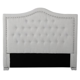 Dante King/California King Upholstered Tufted Fabric Headboard by Christopher Knight Home (Grey - California King)