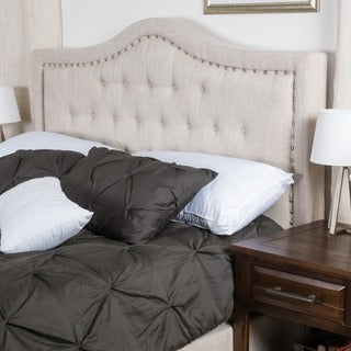 Christopher Knight Home Dante King/California King Upholstered Tufted Fabric Headboard