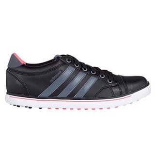 Adidas Women's Adicross IV Black/ Onix/ Flash Red Golf Shoes