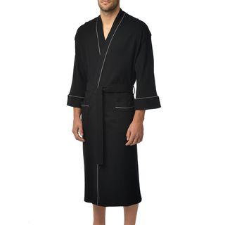 Majestic Unisex Waffle Knit 48-Inch Lounge Kimono Robe (5 options available)