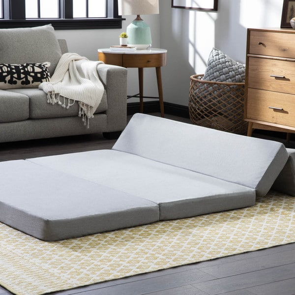 LUCID Inch Gel Memory Foam Folding Mattress Sofa Free - Mattress for sofa bed
