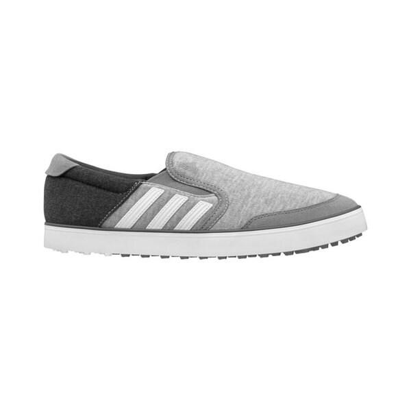 Adidas Men's Adicross SL Core Heather/ White/ Dark Grey Golf Shoes