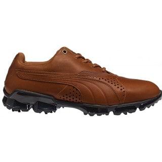 Puma Men's TitanTour Mustang Brown Golf Shoes
