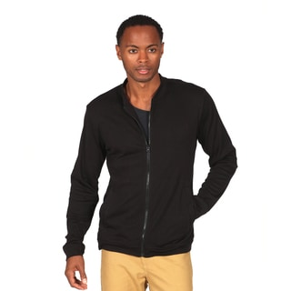 Something Strong Men's Black Lightweight Zip Up Jacket