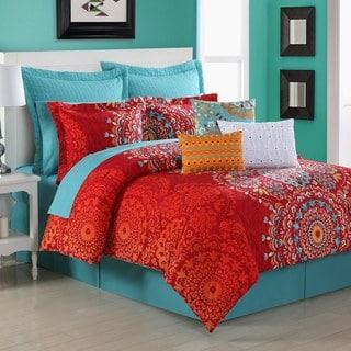 Cozumel Medallion 4-piece Comforter Set by Fiesta