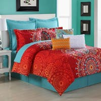 Gracewood Hollow Amabile Medallion 4-piece Comforter Set by
