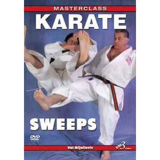 Master Class Karate Leg Foot Sweeps DVD Mijailovic tournament fighting kumite