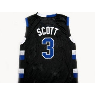 Lucas Scott #3 One Tree Hill Ravens Black Basketball Jersey Adult Costume