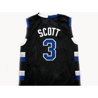 Lucas Scott #3 One Tree Hill Ravens Black Basketball Jersey Adult Costume