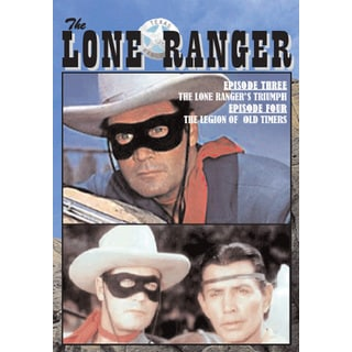 Lone Ranger Vol. 2 DVD TV Episodes 3 Lone Ranger Triumph, 4 Legion of Old Timers
