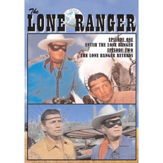 Lone Ranger Volume #1 DVD First 2 Episodes Enter Lone Ranger, Lone Rangr Returns