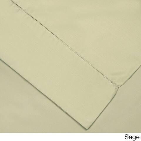 Pointehaven Pima Cotton 800 Thread Count Hemstitch Pillowcases (Set of 2)