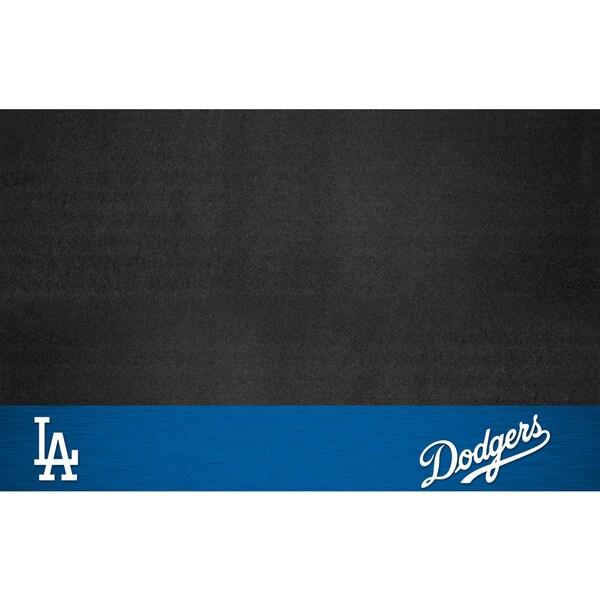 Fanmats Los Angeles Dodgers Black Vinyl Grill Mat