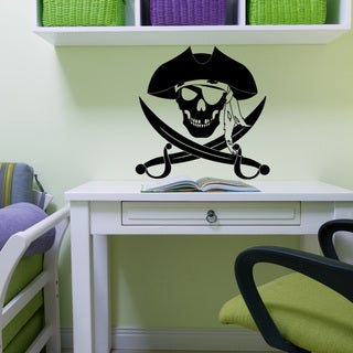 Pirate Wall Decal (More options available)