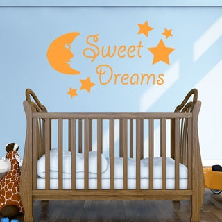 Sweet Dreams Wall Decal (More options available)